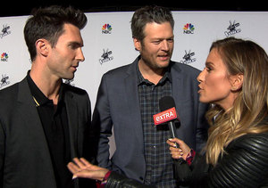 Adam Levine and Blake Shelton on People's Newest Sexiest Man Alive