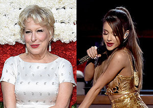 Bette Midler Slams Ariana Grande's Sexy Performances, Says They're 'Silly…