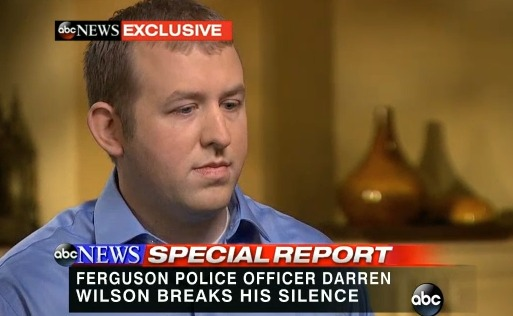 Controversial Cop Darren Wilson's First Interview, Says He Has a Clean Conscience