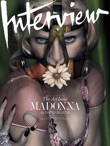 Shock Pics! Madonna Wears a Flowery Ball Gag and More