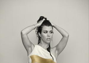 Take That Kim! Kourtney Kardashian Nearly Naked And Pregnant