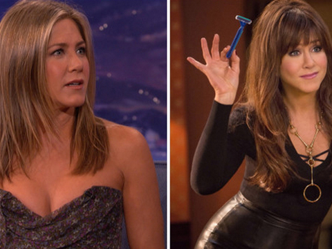 Jennifer Aniston Talks Sex Toys, Shocks Conan O'Brien