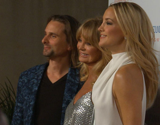 Kate Hudson and Matthew Bellamy Step Out to Celebrate Goldie Hawn's Foundation