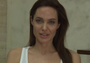 Angelina Jolie Has the Chicken Pox!