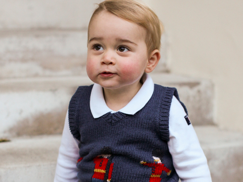 See Prince George's Adorable Christmas Pics!