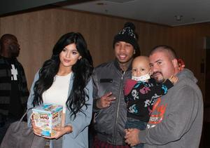 Rumored Couple Tyga & Kylie Jenner Totally Pay It Forward!
