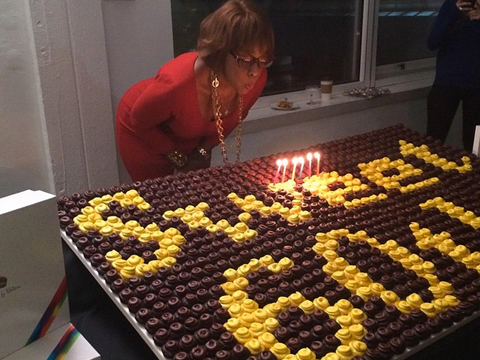 Pics! Oprah Throws Surprise 60th Birthday Blowout for Gayle King