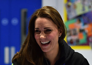 Dressed Down Kate! The Duchess Wears a Hoodie