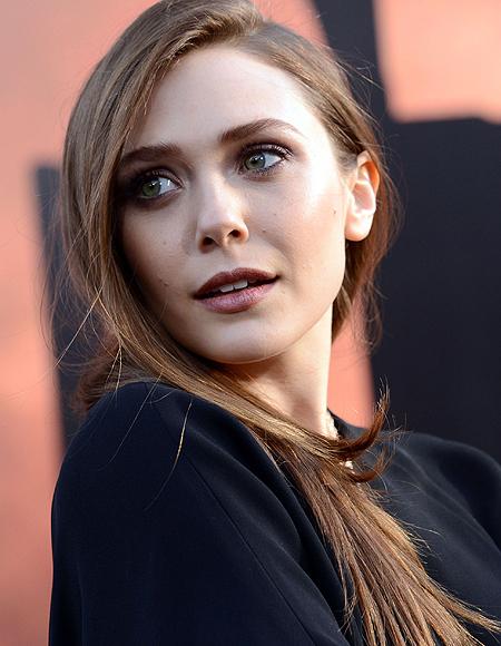 See What Elizabeth Olsen Did to Her Hair!