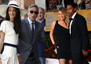 Star Hookups & Breakups for 2014: George & Amal, Mariah & Nick and Others