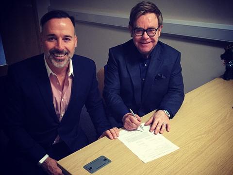 See Sir Elton John and David Furnish's Wedding Album!