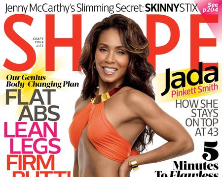 Jada Pinkett Smith Shows Off Hot Bikini Bod on Cover of Shape Magazine!