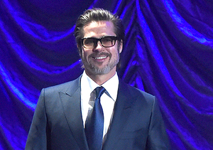 Brad Pitt Leads a Sing-Along at the Palm Springs Int'l Film Festival