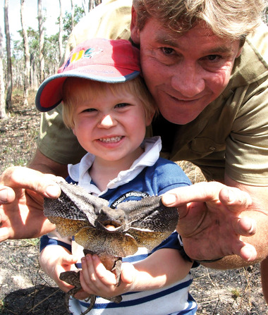 Steve Irwin's Son Bob Looks Just Like Him... See the Pic!