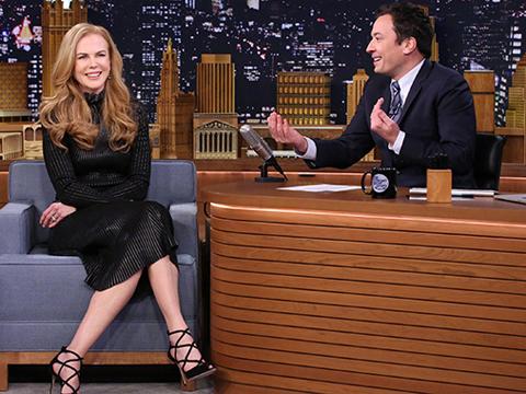 Watch Nicole Kidman Describe Her Cringeworthy Date with Jimmy Fallon