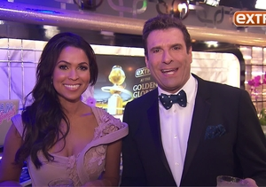 'Extra' Backstage at the Golden Globes: Champagne, Selfies and Much More!