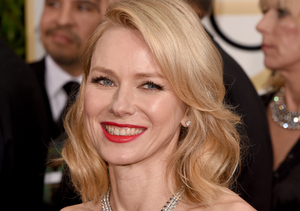 Naomi Watts Brightens Up the Red Carpet in Canary Yellow and Serious Bling