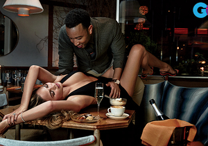 John Legend and Chrissy Teigen's Super Sexy Photo Shoot… Wow, Just…