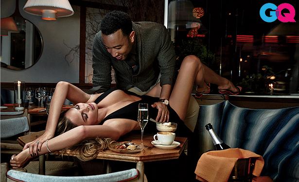 John Legend and Chrissy Teigen's Super Sexy Photo Shoot… Wow, Just Wow