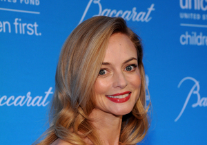 Heather Graham Celebrates 45th Birthday with Hot, Young Mystery Man
