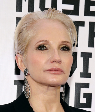 Romance Report: Ellen Barkin Dating Amal Clooney's Law Colleague... Guess Where They Met?