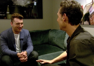 Sam Smith on His Kardashian Fans and Getting Relationship Advice from Taylor…