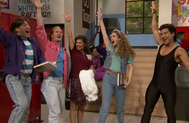 Saved By The Bell Reunion On The Tonight Show Video Extratv Com