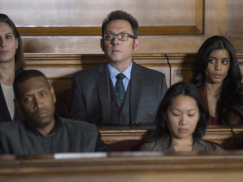 'Person of Interest' Exclusive Clip! Harold Finch Gets Jury Duty!