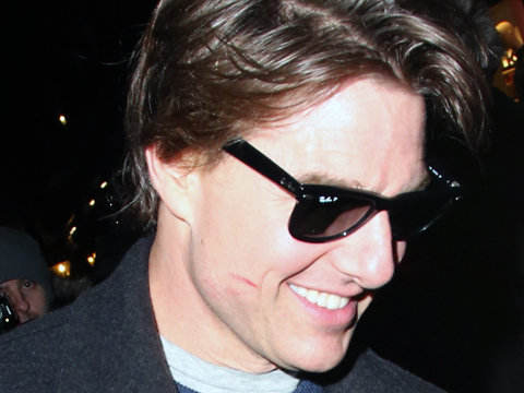 Tom Cruise Spotted with Ex-GF at Scott's Restaurant in London
