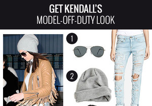 Get the Look: Kendall Jenner's Chic Airport Style