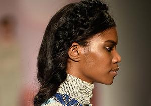 Hairdo Alert! Braids Are In at Mara Hoffman NYFW Show