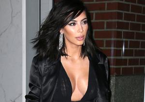 Kim Kardashian's Boob Job… with Makeup!