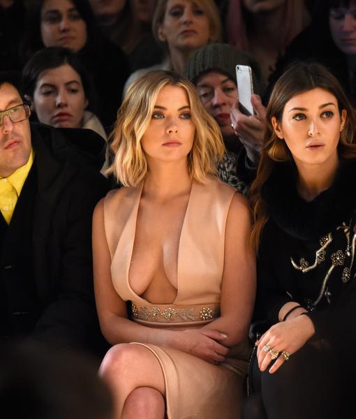 'Pretty Little Liars' Star Risks Nip Slip for Fashion's Sake
