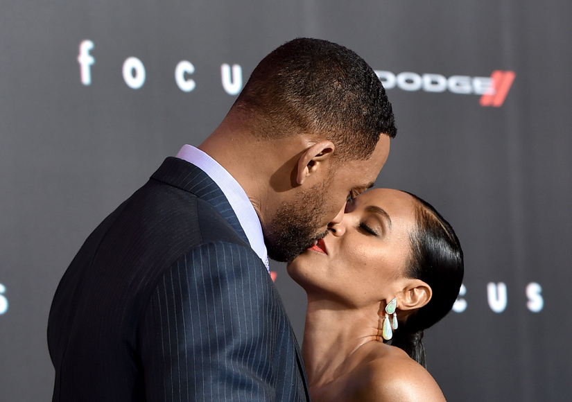 Will and Jada Share Passionate Red Carpet Kiss, Before Telling Us...