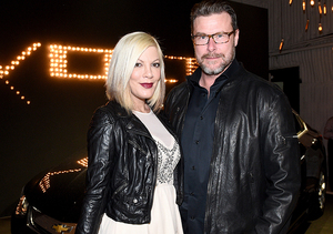 Kiss and Make Up! Tori Spelling & Dean McDermott Celebrate 9th Wedding…