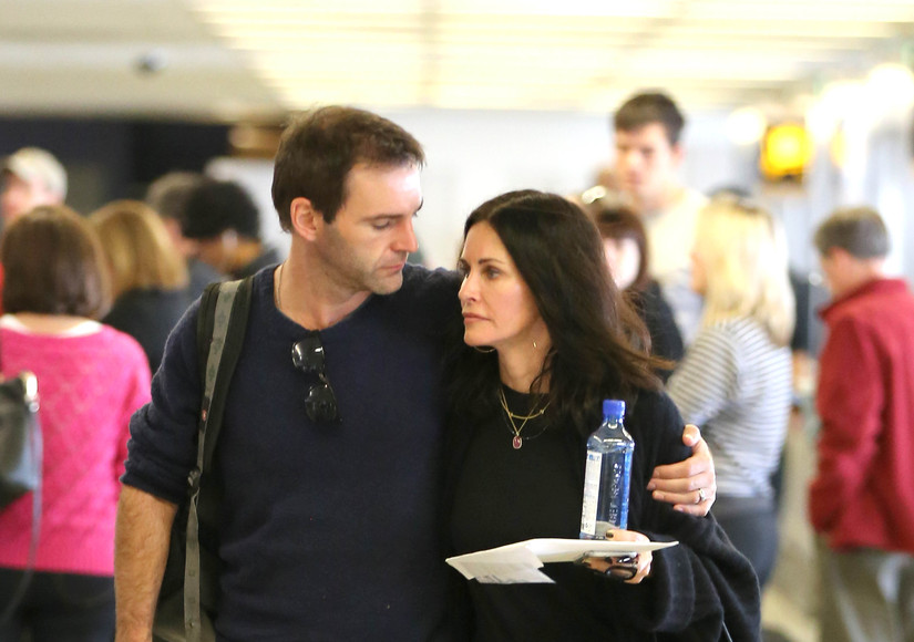 Courteney Cox and Johnny McDaid Put Breakup Rumors to Rest with a Little PDA