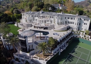 Check Out the Incredible $65-Million Bel-Air Liongate Estate