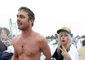 Lady Gaga and Taylor Kinney Take the Plunge