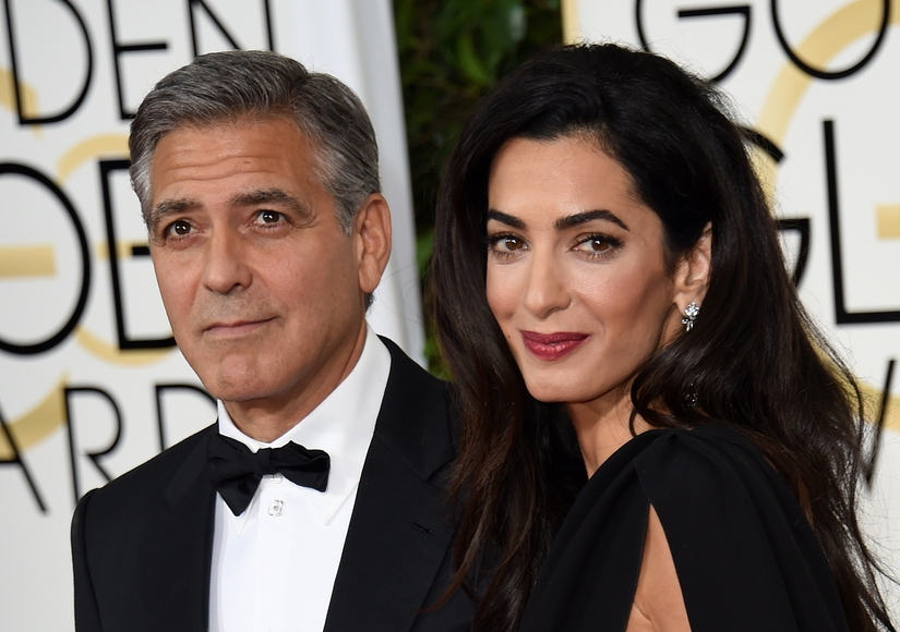 George Clooney Gushes About Wife Amal