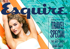 Rosie Huntington-Whiteley's Sexy Spread for Esquire Travel