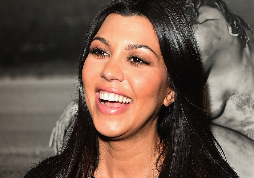 How Kourtney Kardashian Is Shedding Her Baby Weight