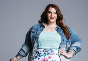 Plus-Size Beauty Tess Holliday Goes Sexy Glam in New Ad Campaign