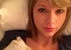 Cute Overload! See Taylor Swift's 'I Woke Up Like This' Selfie with Olivia…