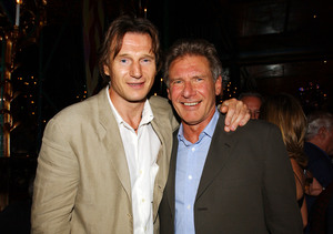 Liam Neeson's Well Wishes for Friend Harrison Ford