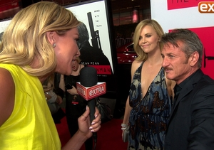 Sean Penn Likes Having Charlize Theron By His Side