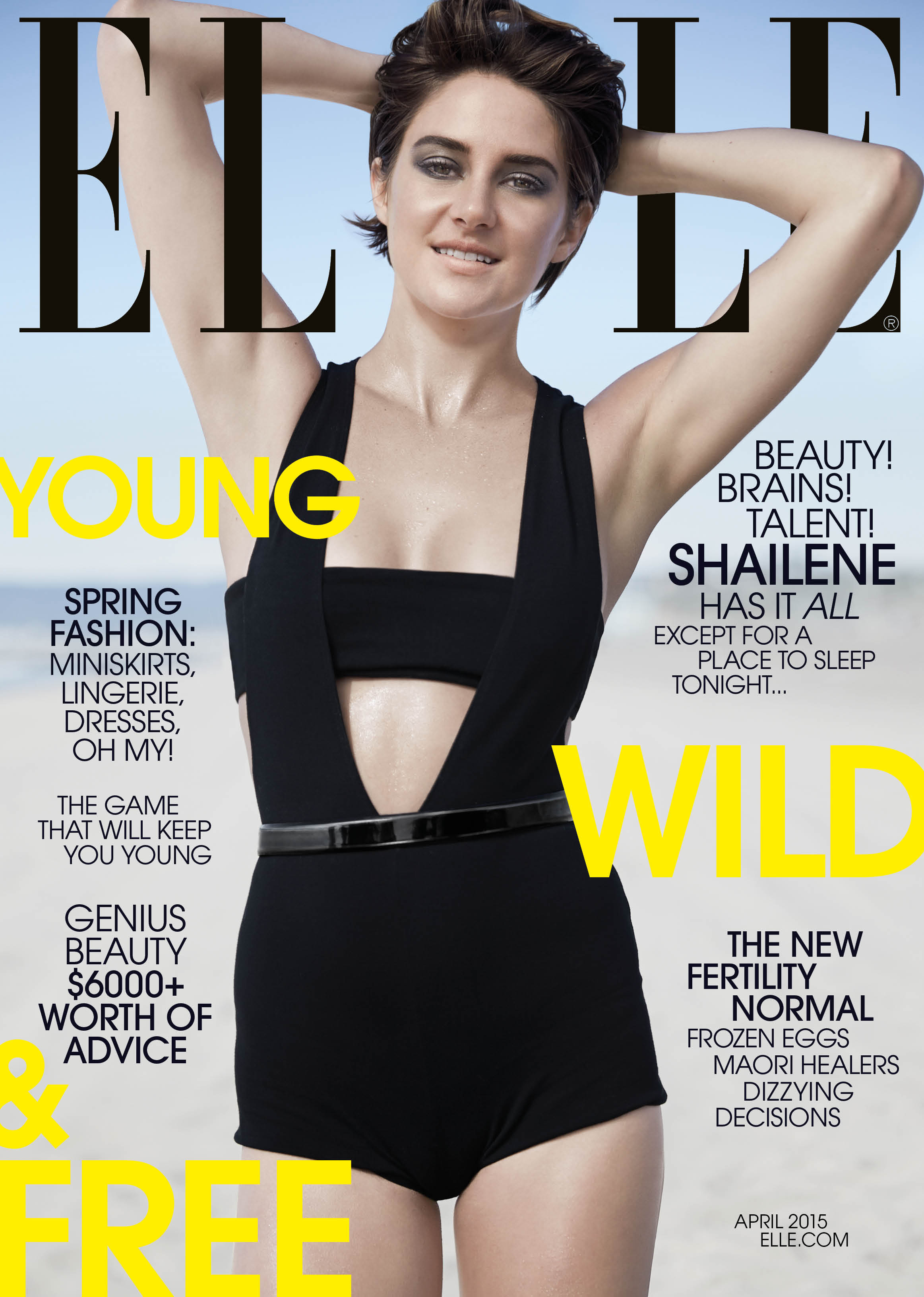 ELLE April 15 Cover