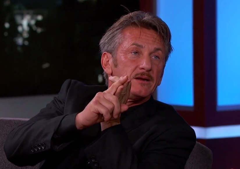 Superfan?! Sean Penn Talking About 'The Bachelor' Is the Best Thing Ever