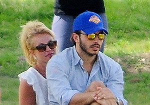Engaged? Britney Spears Flashes Giant Ring on THAT Finger