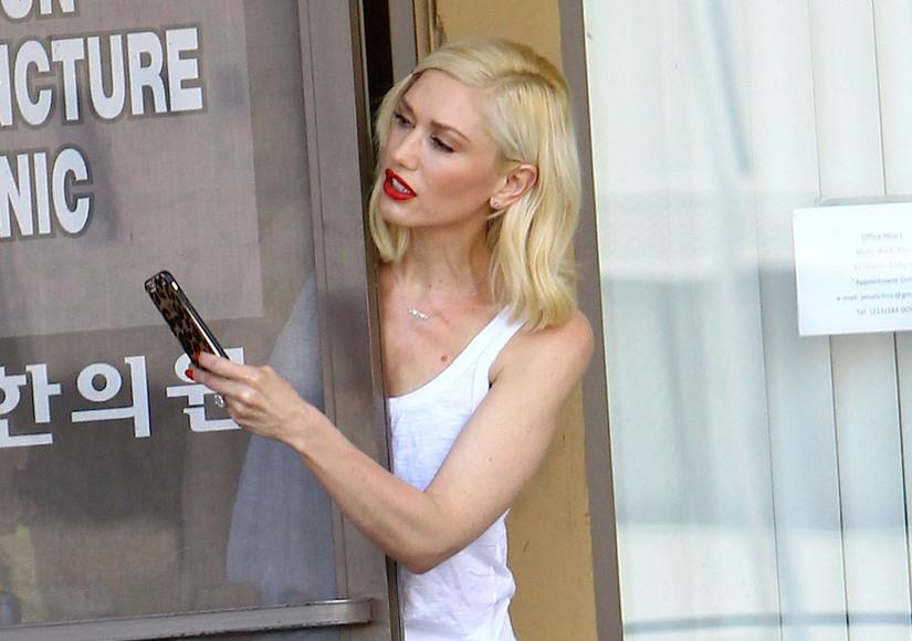 Eyewitnesses: Gwen Stefani Calls Cops After Suspected Stalker Scare
