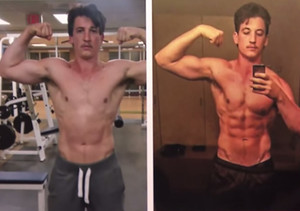 Holy Hotness! Miles Teller Reveals New, Ripped Body